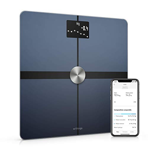 Withings Body + - Báscula conectada a WiFi y Bluetooth con ...