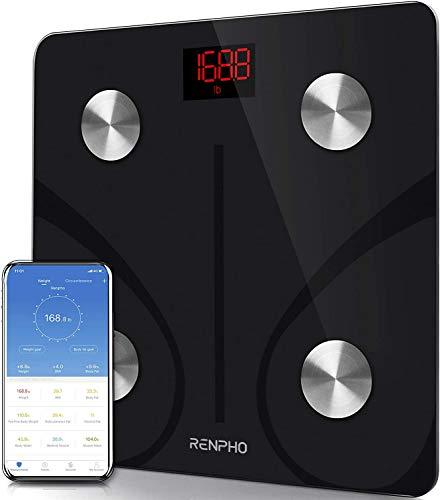 Báscula personal RENPHO, báscula conectada por Bluetooth ...