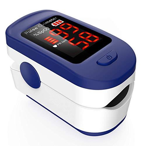 Oxímetro de dedo profesional AGPTEK, oxímetro de pulso ...
